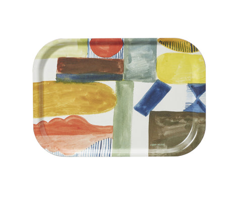 Happy Shapes Melamine Tray by Donna Wilson