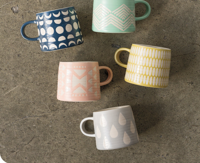Imprint Ceramic Mugs
