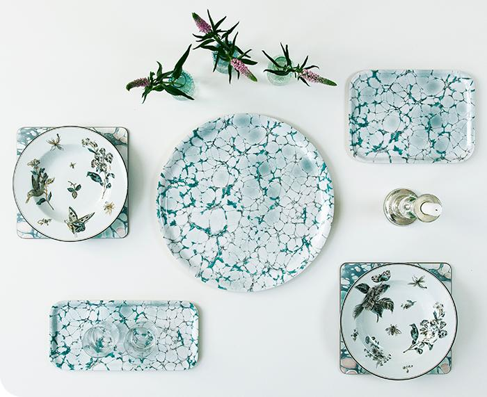 Marble Mint Small Tray by Studio Formata