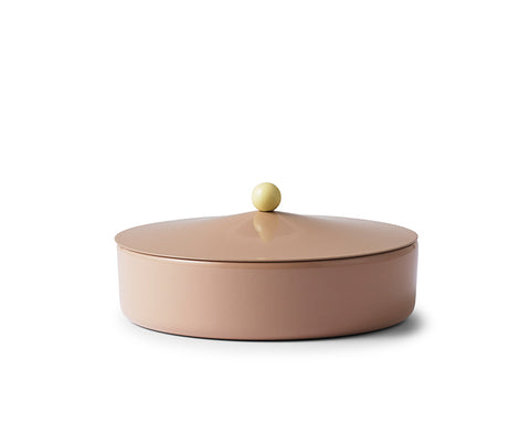 Marquee Box - Large Golden Khaki - by Normann Copenhagen