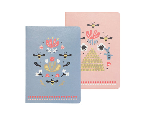 Frida Set of Two Notebooks by Danica Studio