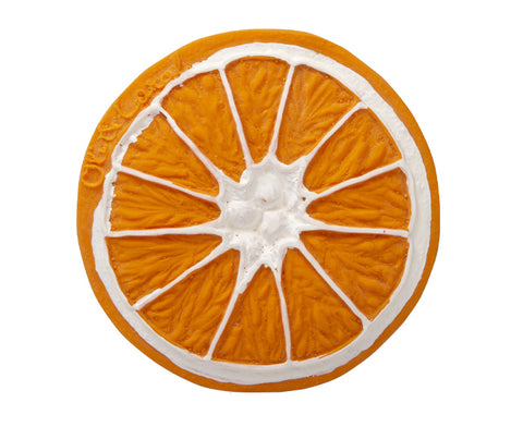 Clementino the Orange Chewable Toy by Oli & Carol