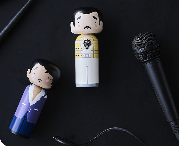 Freddie and Prince Kokeshi Doll by Sketch.inc