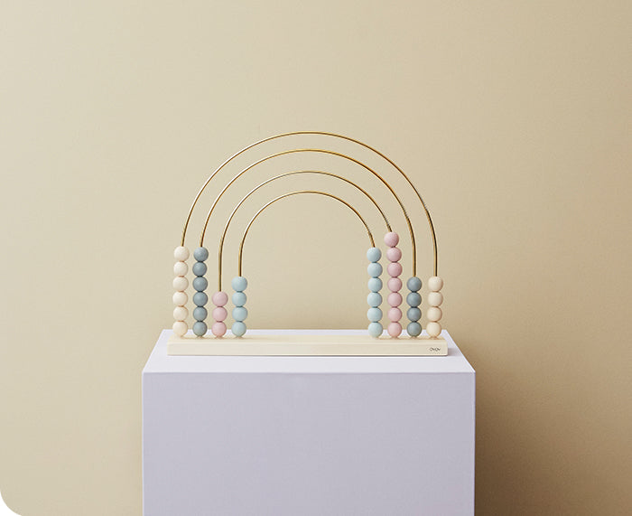 Rainbow Pastel Abacus by Oyoy Living Design