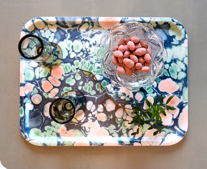 Spring Blossom Rectangular Tray by Studio Formata