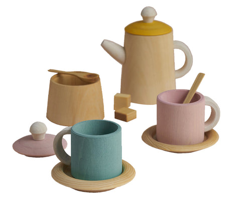 Tea Set in Pastel by Raduga Grez