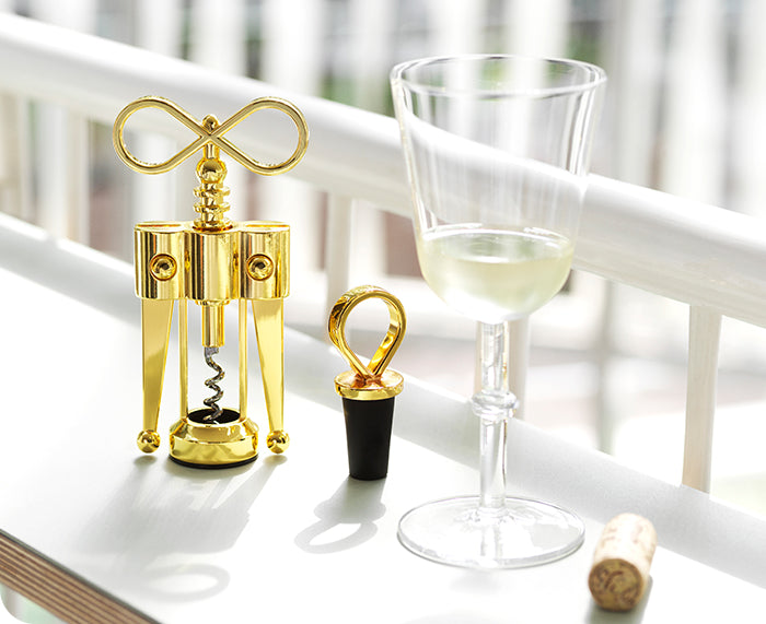 Porter Wine Stopper and Corkscrew By Normann Copenhagen