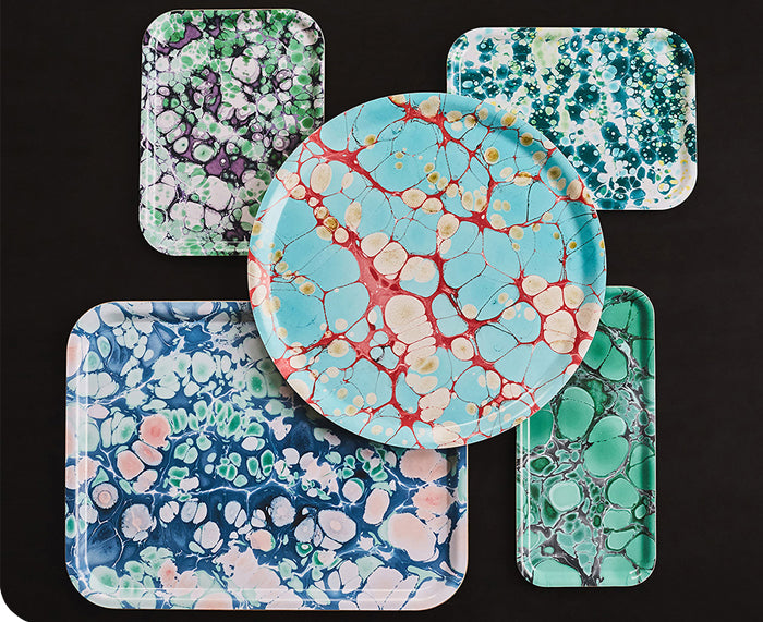 Verdigris Fantasy Small Tray by Studio Formata
