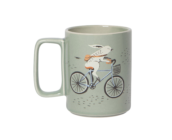 Wild Riders Mug by Danica Studio