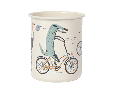 Wild Riders Pencil Cup by Danica Studio
