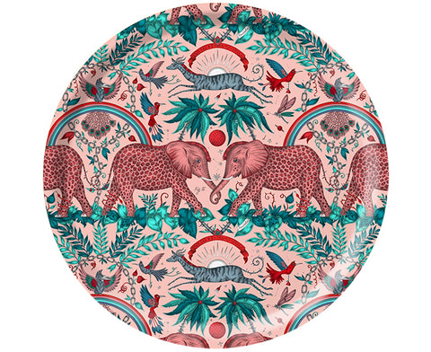 Zambezi Round Tray in Pink by Jamida