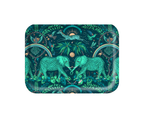 Zambezi Small Tray in Teal by Jamida