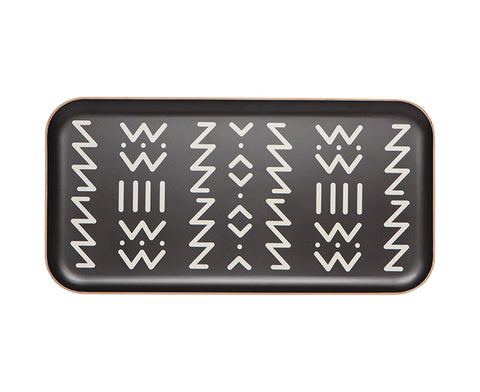Ziggy Willow Wood Tray by Danica Studio