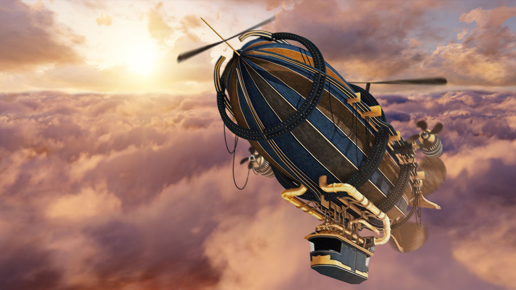 Airship Drone White Noise MP3