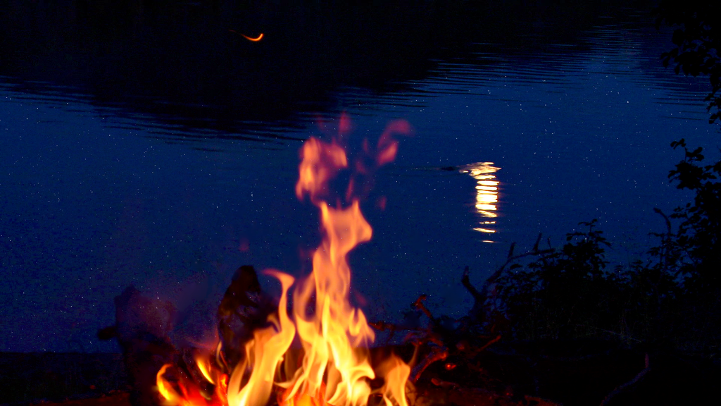 Campfire by a Lake MP3
