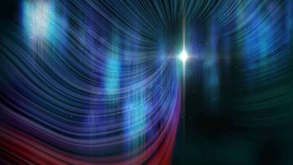 Sleep well with this cosmic glow white noise