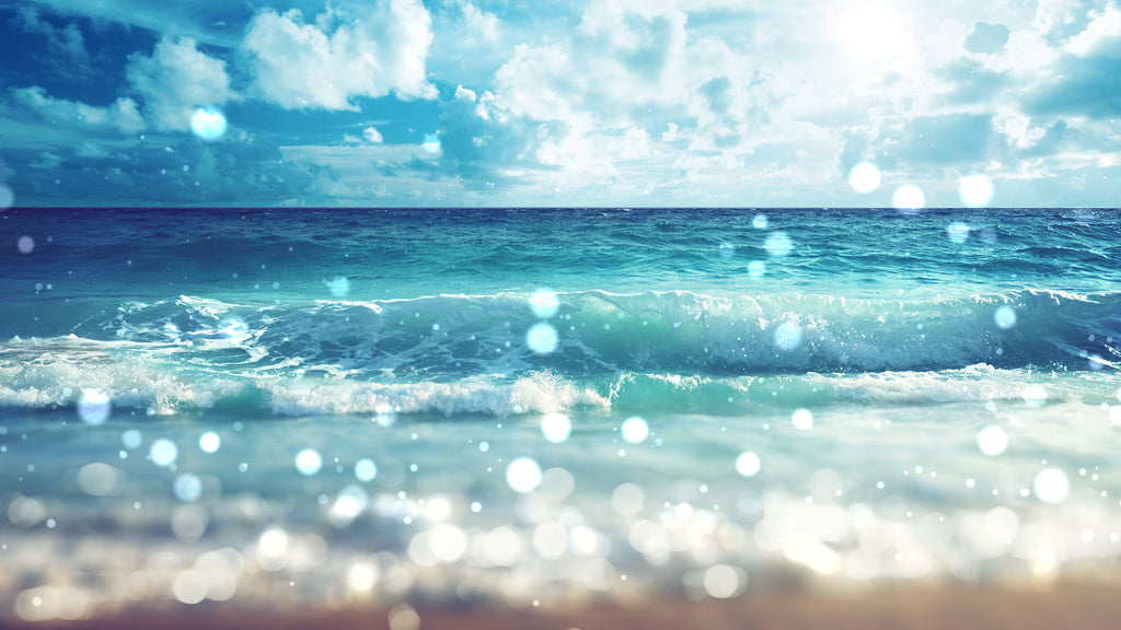 Soothing ocean waves white noise will relax you so you can sleep, study or focus.