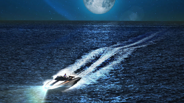 This jet boat relaxing white noise sound will help you study and concentrate.