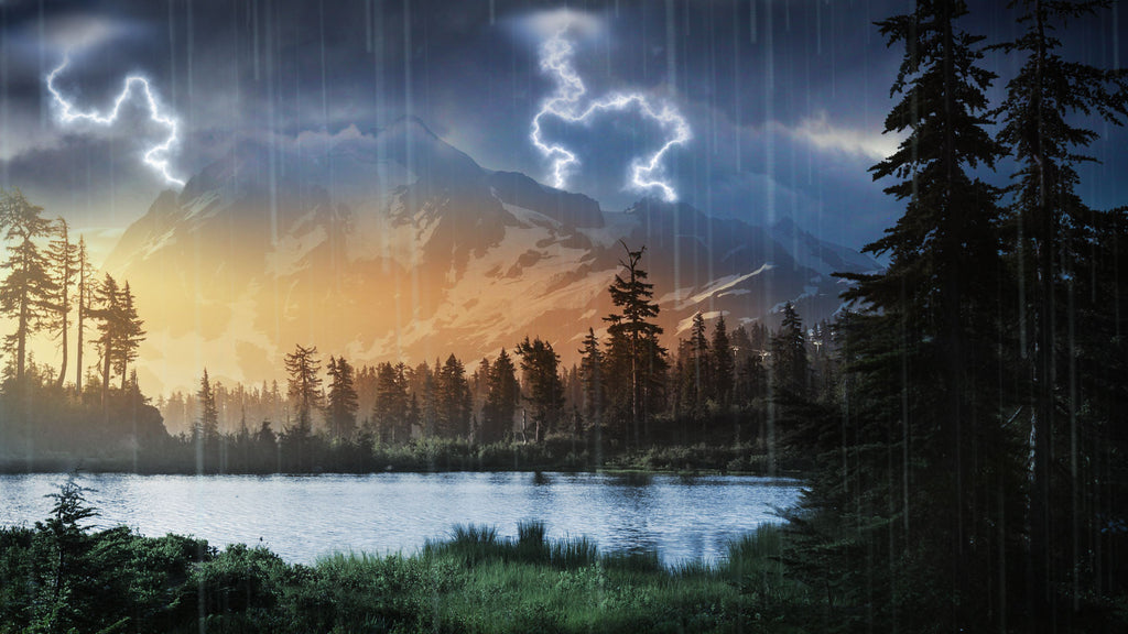 Pacific Northwest Rain Amp Thunder Mp3 Relaxing White Noise