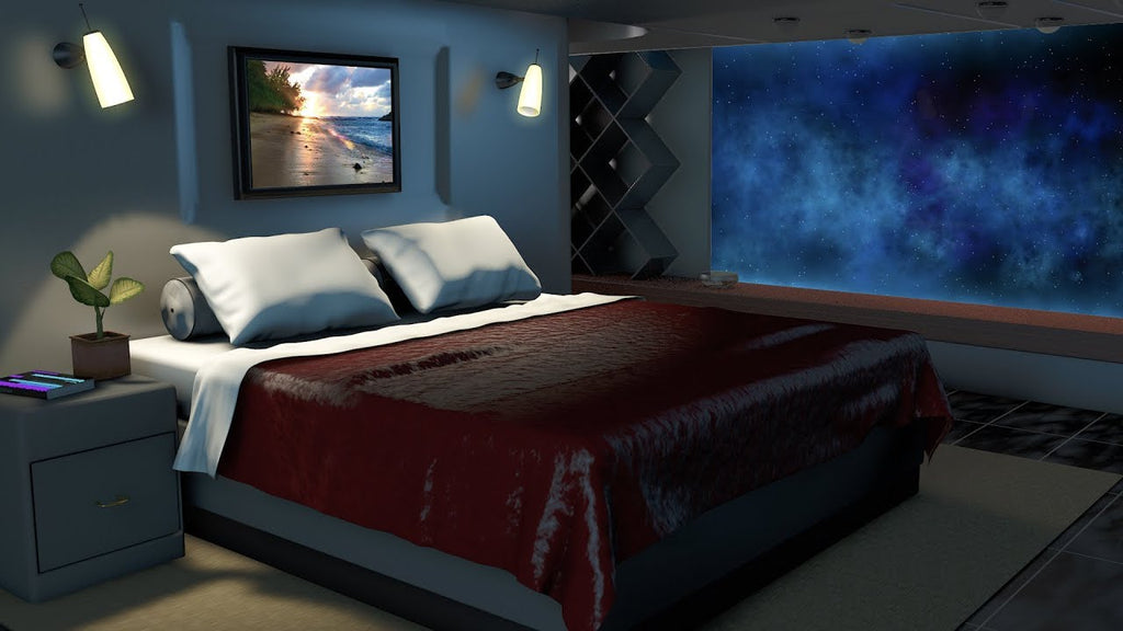 Spaceship Bedroom White Noise MP3