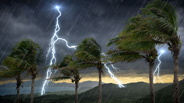 Tropical Storm Thunder and Rain Sounds MP3