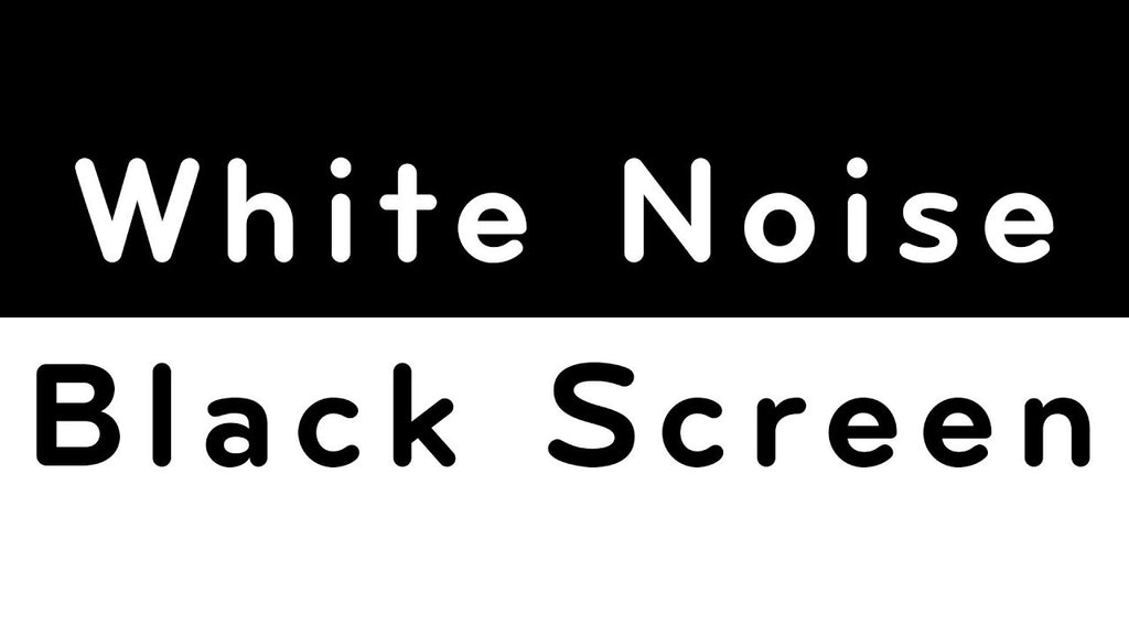 White Noise Black Screen MP3