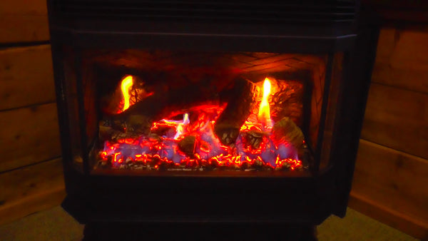 Wood Stove Fire Place Mp3 Relaxing White Noise