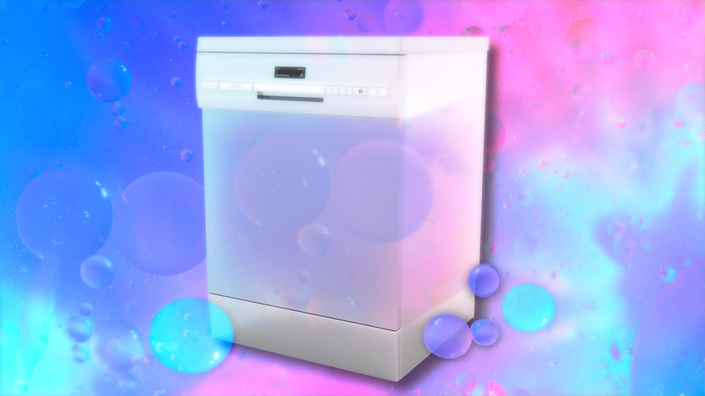 Your baby or child will fall asleep to the soothing white noise of this dishwasher