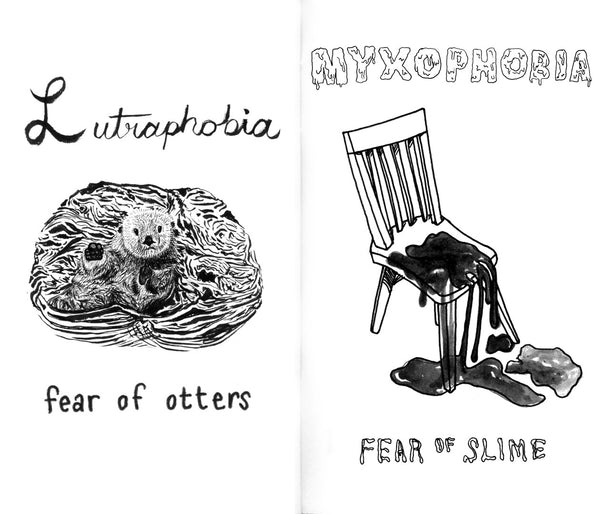 A-Z of Uncommon Phobias