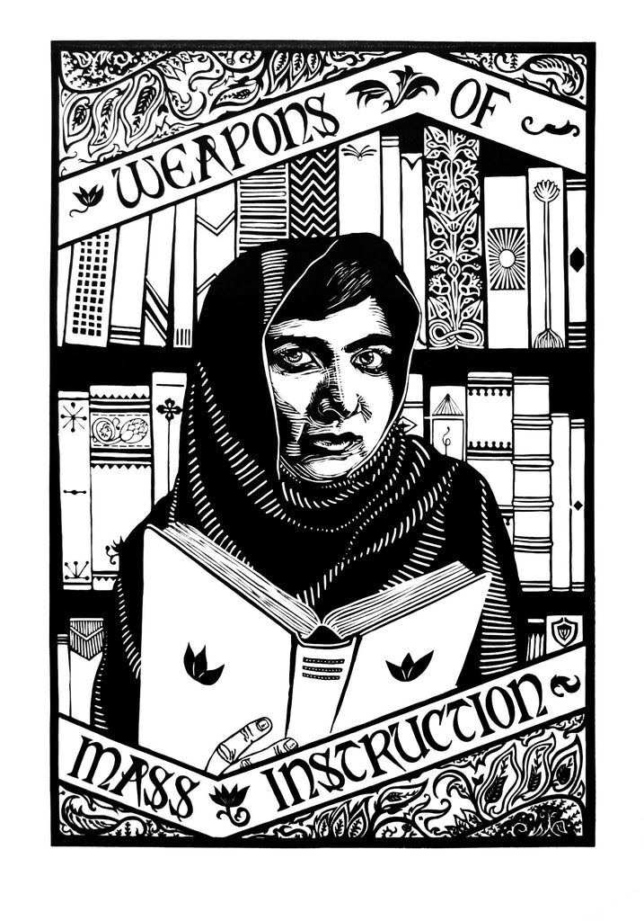 Weapons of Mass Instruction - Portrait of Malala Yousafzai