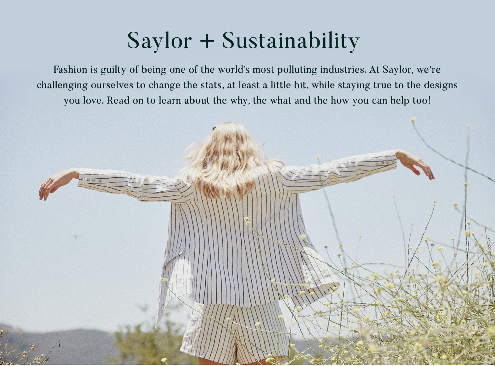 Saylor + Sustainability