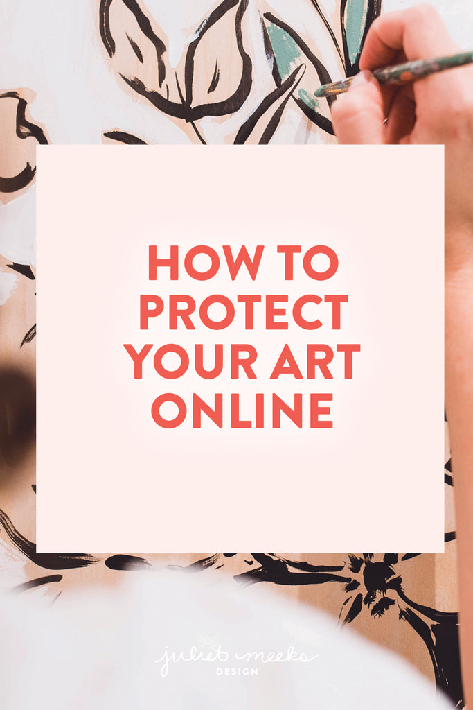 How to Protect Your Art Online