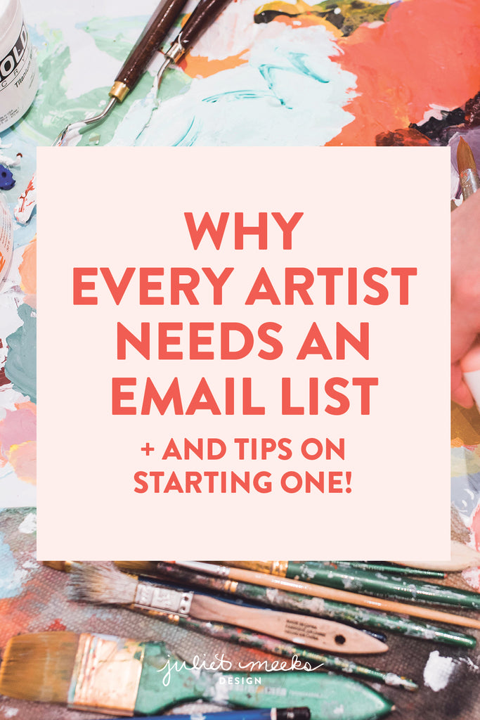 Why Every Artist Needs an Email List