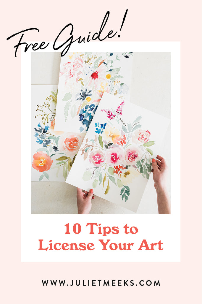 10 Tips for Getting Started in Art Licensing
