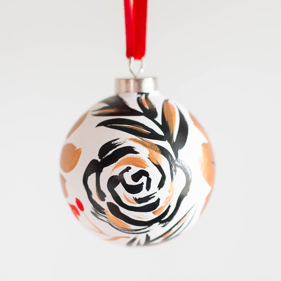 Hand-Painted Ornament - Holiday Glow