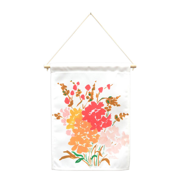 Garden Party - Hanging Fabric Art Print