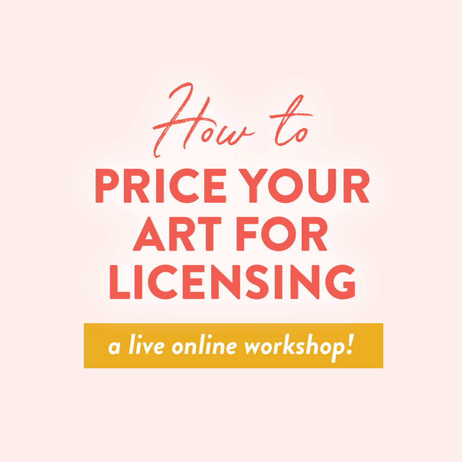 How to Price your Art for Licensing: An Online Workshop on November 19th