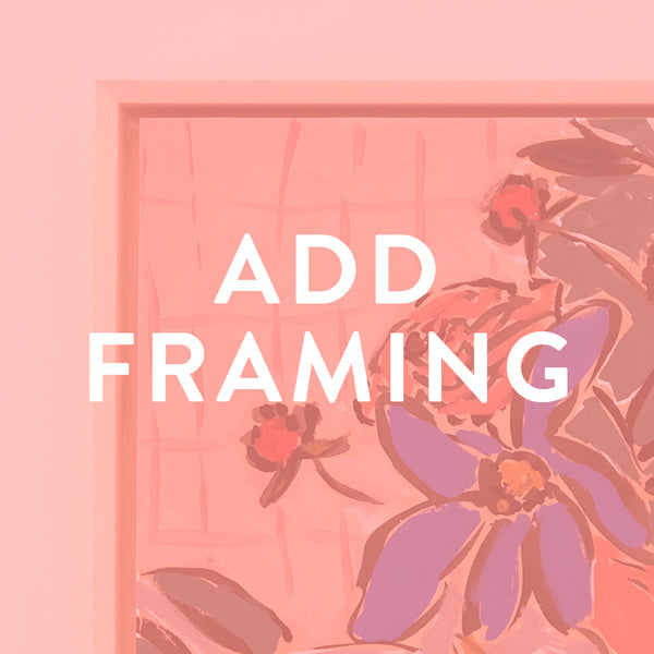 Add Framing to Original Paintings