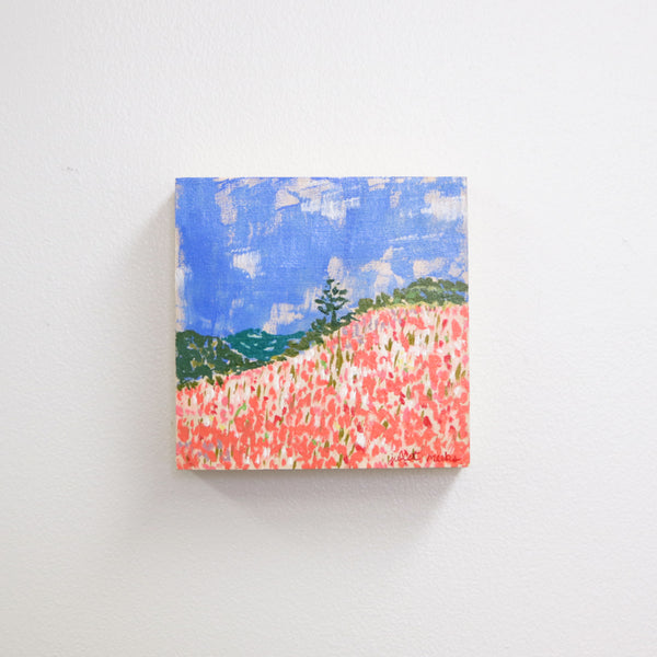 Tiny Flower Field - 6x6""