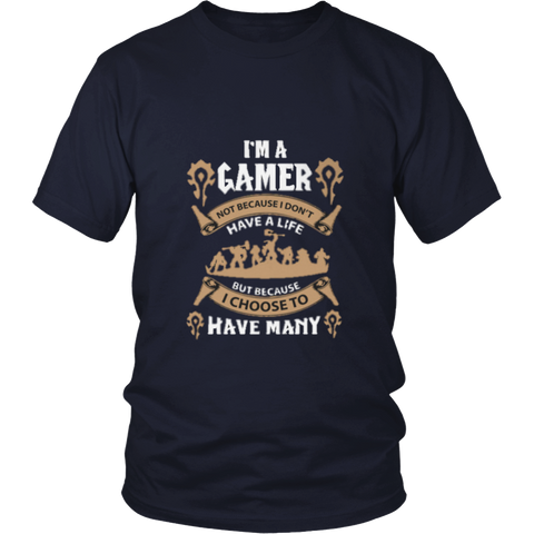 wow tshirt gamer