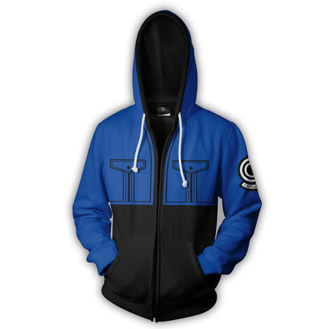 TRUNKS ZIP UP HOODIE