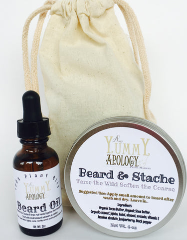 Beard & Stache Kit