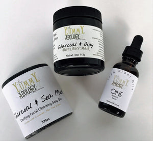Face Trio Cleanse, Detox, Nourish