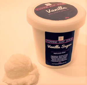 Vanilla Sugar Foaming Sugar Soap Scrub