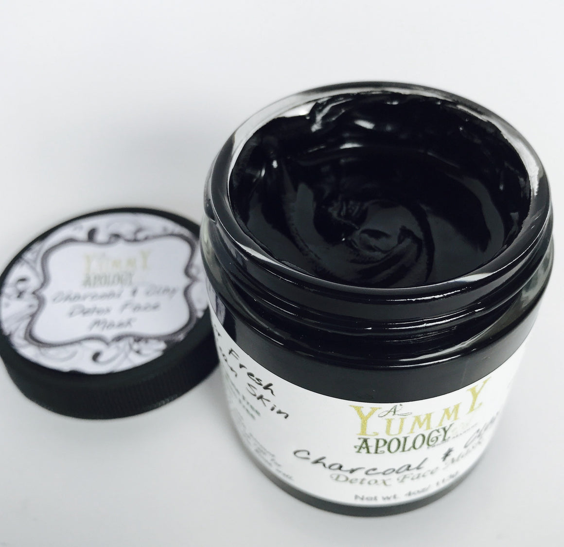 Charcoal & Clay Detox Mask
