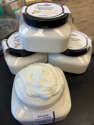 Body Souffle' (Butter) in 7 Scents