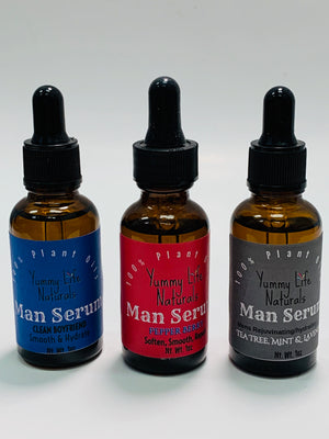 Mens Facial Serum & Beard Oil