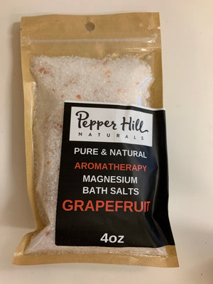 Herbal Bath Salts 4oz