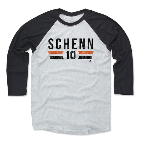 Mens Baseball T-Shirt Black / Ash