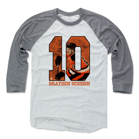 Mens Baseball T-Shirt Heather Gray / Ash